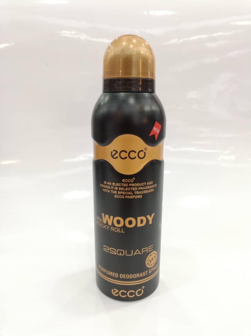 اسپری مردانه مدل وودی راکی رول Woody Rocky Roll Spray For Men